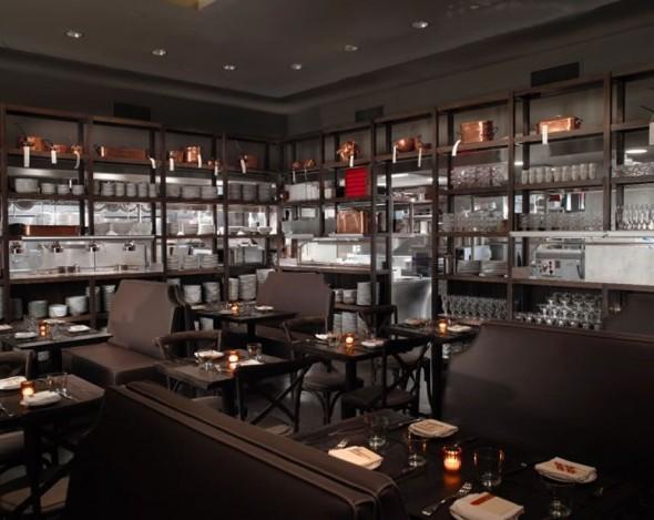 modern restaurant interior design dbgb kitchen bar east village nyc